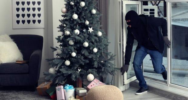 theft crime at Christmas time