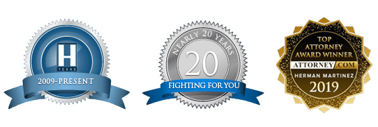 Martinez Law DWI Defense Attorney 2019 Awards